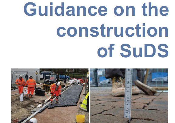 CIRIA, SuDS, Construction